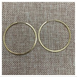 18K Gold Filled Hoops